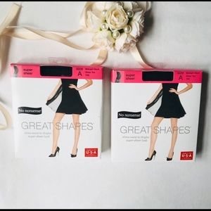 Pantyhose Great Shapes No Nonsense size A